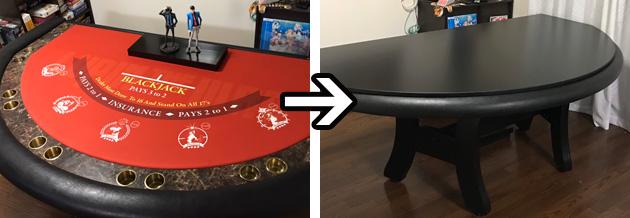 ご家族で楽しめるお気に入りデザインラシャ!テーブルトップをつければダイニングテーブルに!